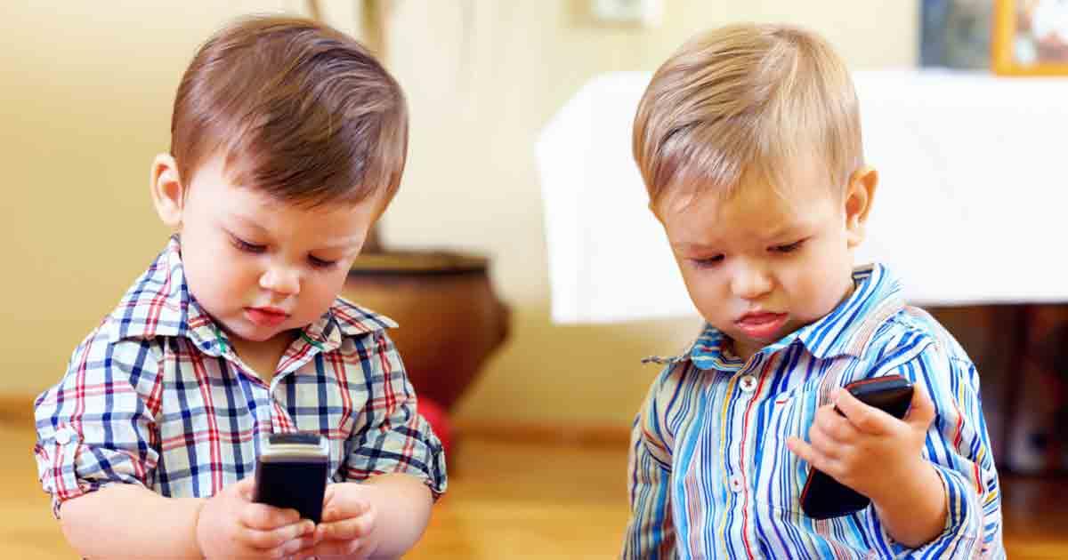 Tablets, celulares y niños