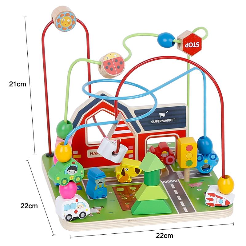 Laberinto didáctico de juguete para bebés
