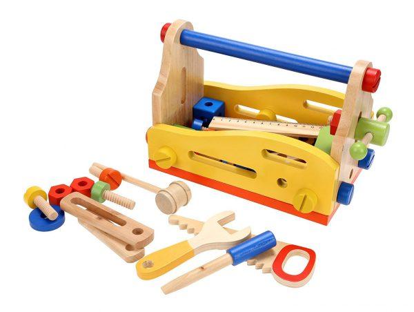 Caja de herramientas de juguete