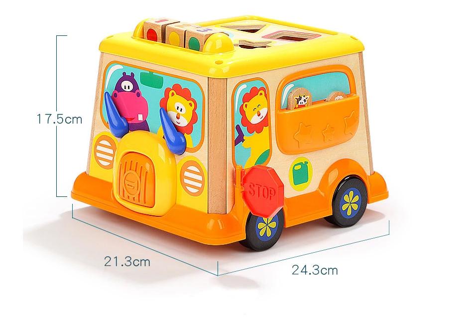 Bus escolar de juguete medidas