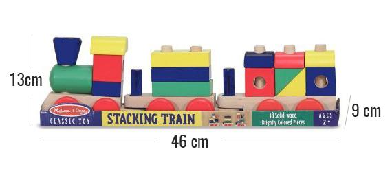 Tren de juguete en madera
