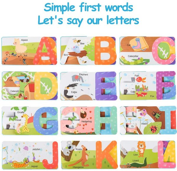 Paginas libro en Ingles ABC