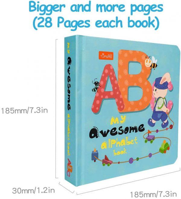 Libro plastificado en Inglés para niños