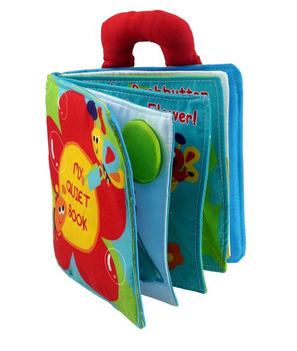 Libro de actividades para estimular la inteligencia de los bebés